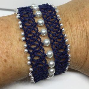 Armband Austria dunkelblau
