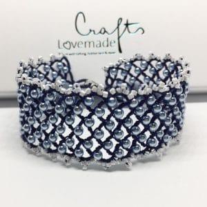 Armband Eleonore maxi blau