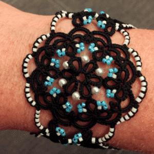 Armband Tracht schwarz