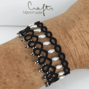 Armband Grace in schwarz