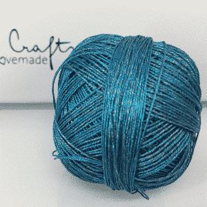 Metallic türkis blau