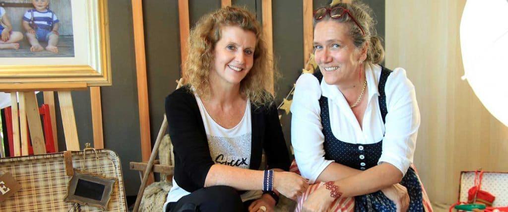 Verena Struber mit Gabi Gehmacher