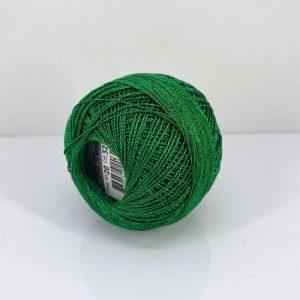 Lizbeth Metallic Christmas Green