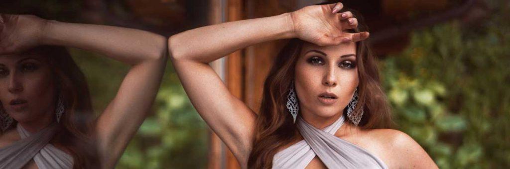 Viktoria Kummer trägt Ohrringe Elegance von LovvemadeCrafts