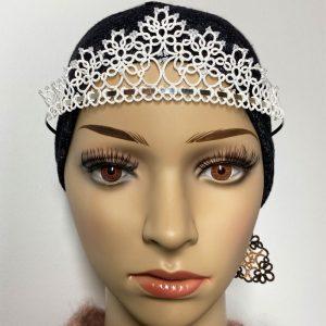 Tiara Rose mit Perlen getragen