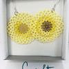 Ohrringe Rosalie in Gelb